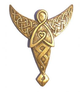 Celtic Angel wall plaque.